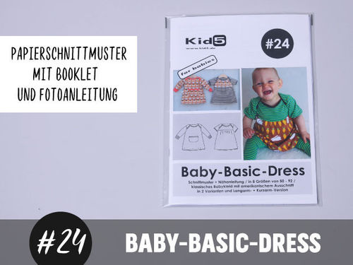 Papierschnitt Baby Basic Dress